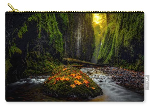 Carry-all Pouch featuring the photograph Inner Sanctum  by Dustin  LeFevre