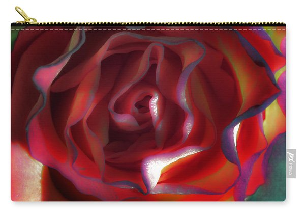 The Psychic World Of A Rose Carry-all Pouch