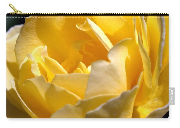 Inside The Yellow Rose Carry-all Pouch