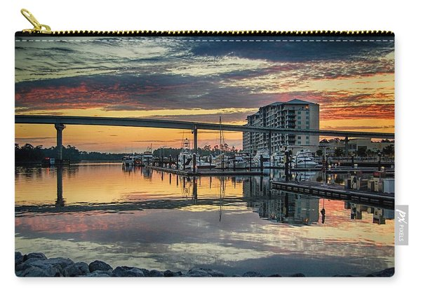 Intercoastal Waterway And The Wharf Carry-all Pouch