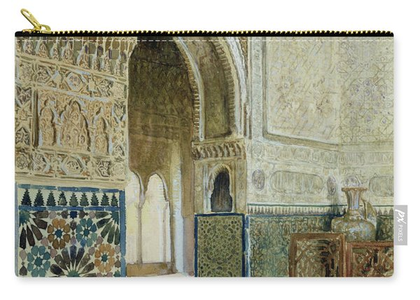 Interior Of The Alhambra  Carry-all Pouch