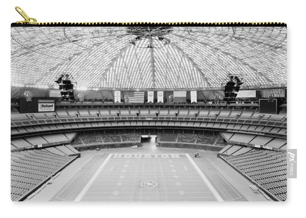 Interior Of The Old Astrodome Carry-all Pouch