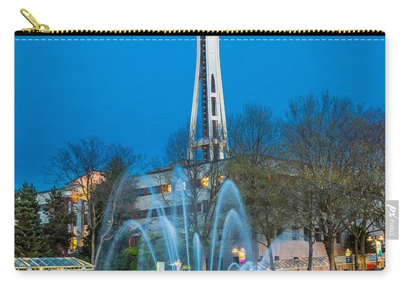 International Fountain Lights Carry-all Pouch