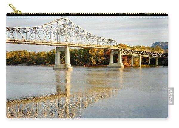 Interstate Bridge In Winona Carry-all Pouch