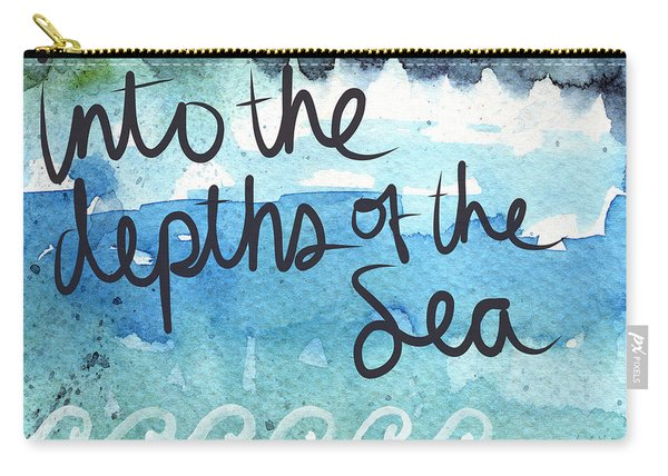 Into The Depths Of The Sea Carry-all Pouch
