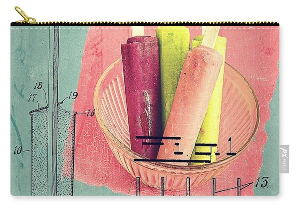 Invention Of The Ice Pop Carry-all Pouch