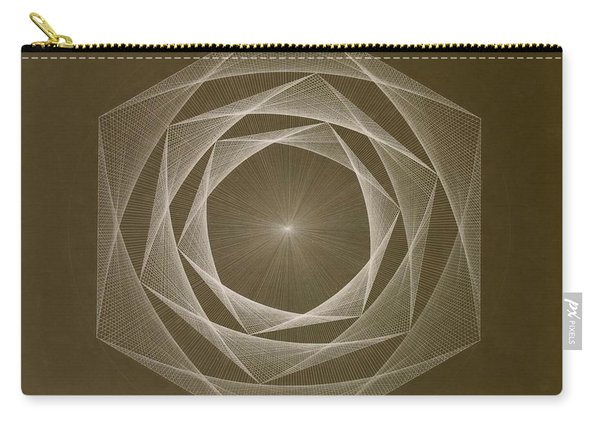 Inverted Energy Spiral Carry-all Pouch