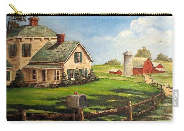 Cherokee Iowa Farm House Carry-all Pouch