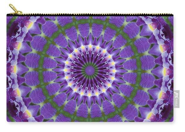 Iris Kaleidoscope  Carry-all Pouch