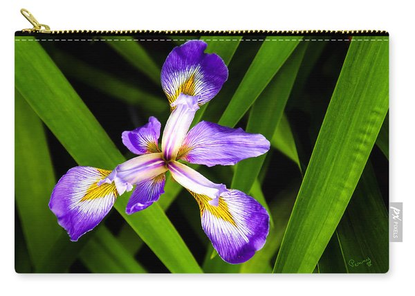 Iris Pinwheel Carry-all Pouch