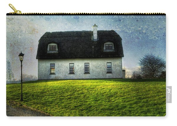 Irish Thatched Roofed Home Carry-all Pouch