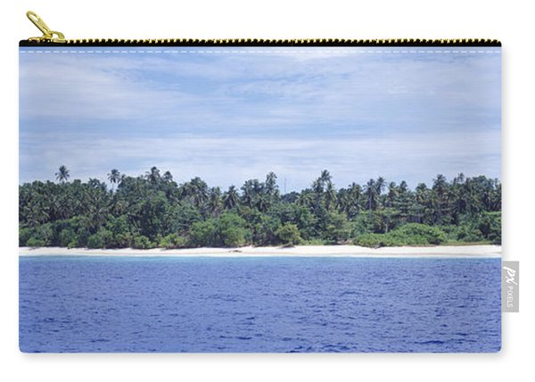 Island In The Sea, Indonesia Carry-all Pouch