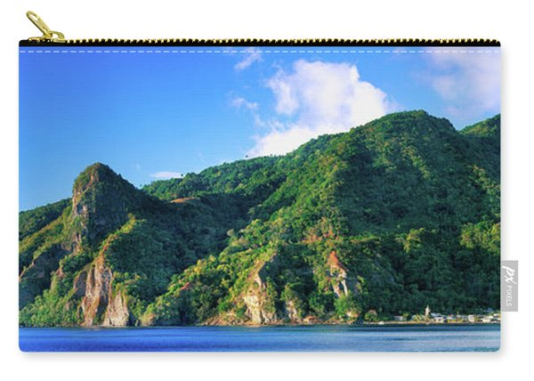 Island In The Sea, Soufriere, Saint Carry-all Pouch