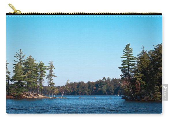 Island On The Fulton Chain Of Lakes Carry-all Pouch