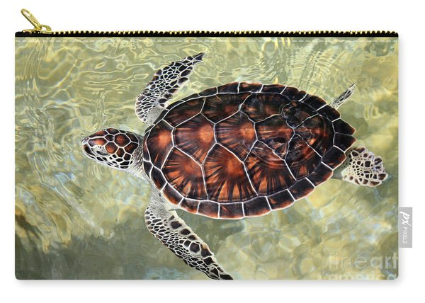 Island Turtle Carry-all Pouch