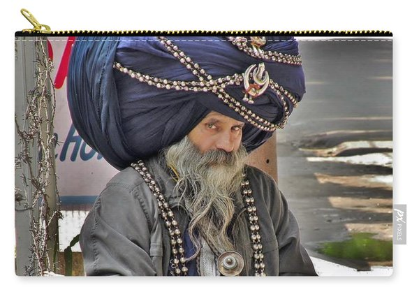 Its All In The Head - Rishikesh India Carry-all Pouch