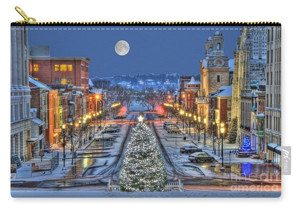 It's Christmas Time In The City Carry-all Pouch