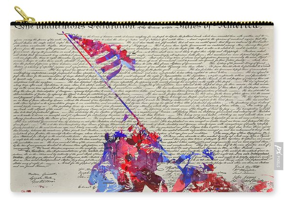 Iwo Jima Declaration Of Freedom Carry-all Pouch