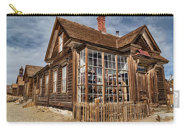 J. S. Cain Home In Bodie Ghost Town Carry-all Pouch