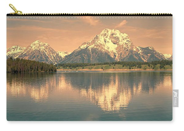 Jackson Lake Sunrise - Grand Teton Carry-all Pouch