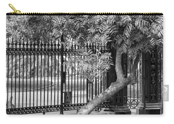 Jackson Square Bench And Tree Carry-all Pouch