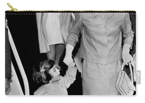 Jacqueline Kennedy With Child Carry-all Pouch