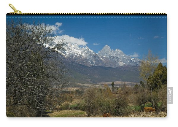 Jade Dragon Snow Mountain Viewed Carry-all Pouch