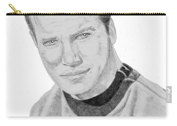 James Tiberius Kirk Carry-all Pouch