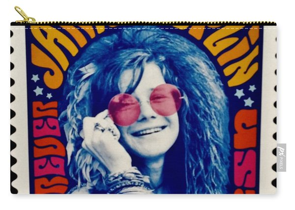Janis Stamp In A Groovy Vibe Carry-all Pouch