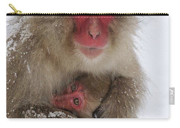 Japanese Macaque Warming Baby Carry-all Pouch