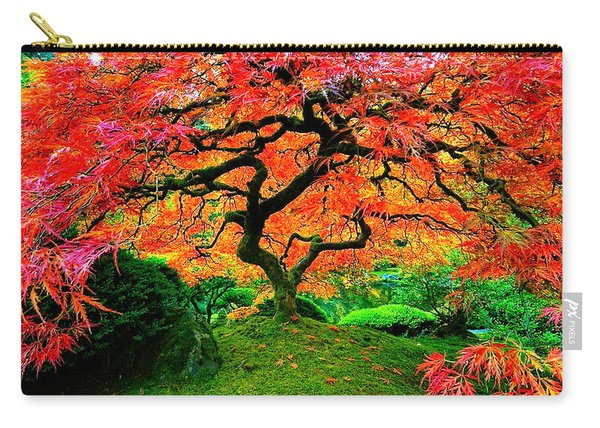 Japanese Red Maple Carry-all Pouch