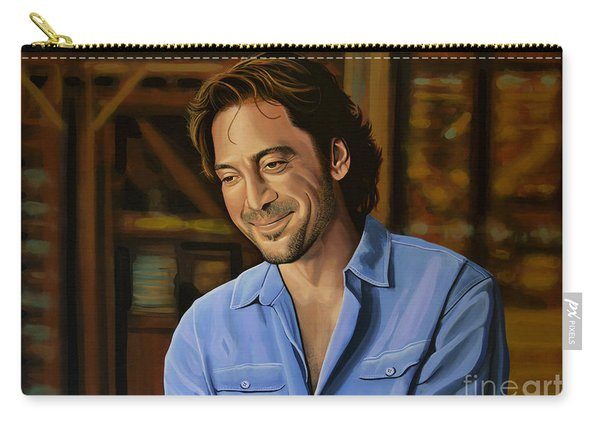 Javier Bardem Painting Carry-all Pouch