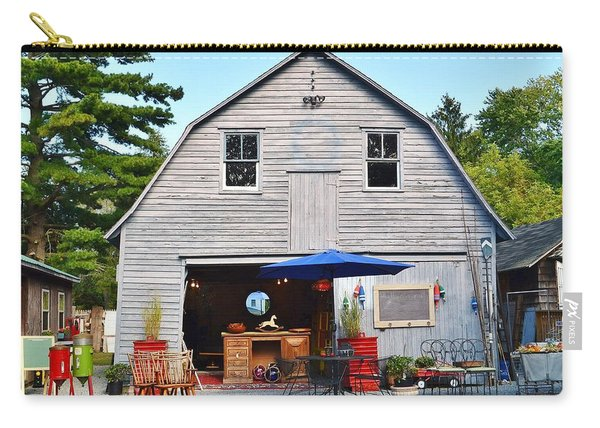 The Old Barn At Jaynes Reliable Antiques And Vintage Carry-all Pouch