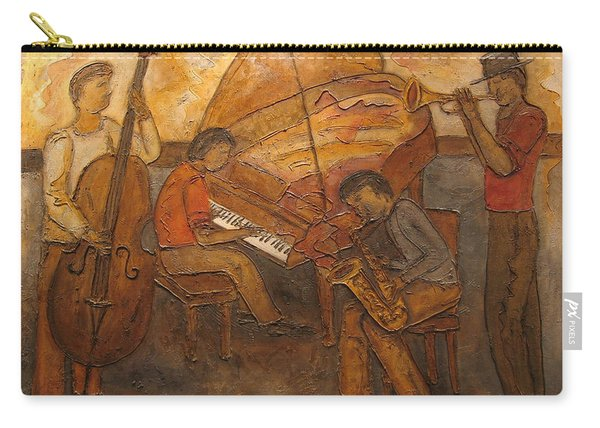 Jazz Quartet Carry-all Pouch