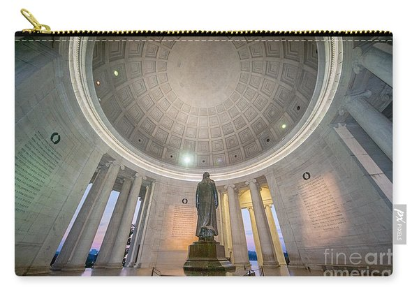 Jefferson's Back Carry-all Pouch