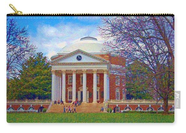 Jefferson's Rotunda At Uva Carry-all Pouch
