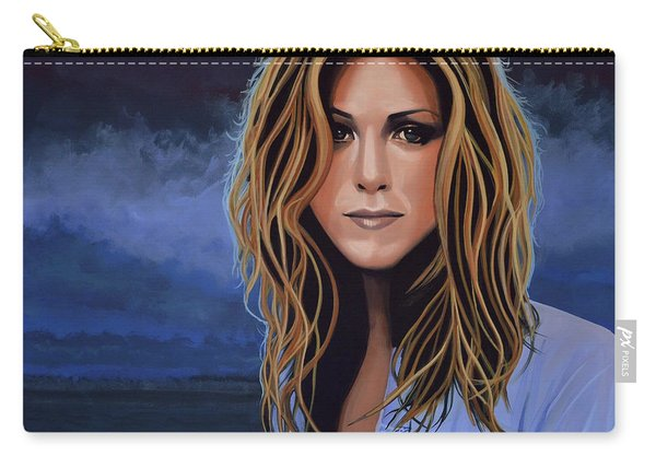 Jennifer Aniston Painting Carry-all Pouch