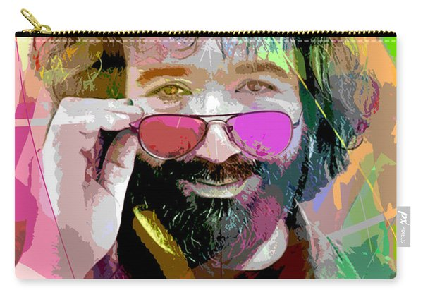 Jerry Garcia Art Carry-all Pouch