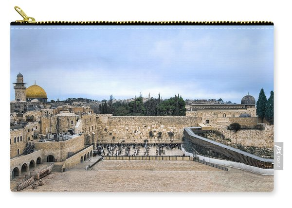 Jerusalem The Western Wall Carry-all Pouch
