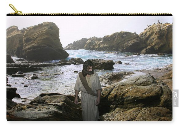 Jesus Christ- In The Company Of Angels Carry-all Pouch