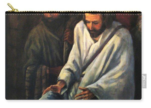 Jesus Healing Beggar Carry-all Pouch