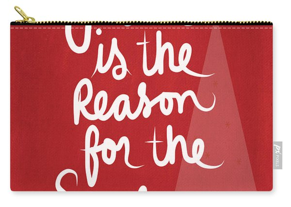 Jesus Is The Reason For The Season- Greeting Card Carry-all Pouch