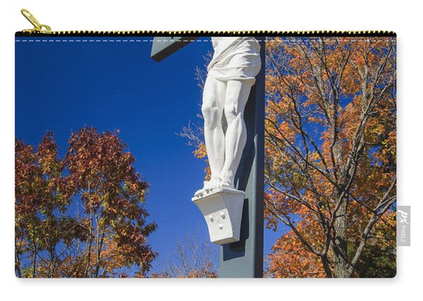 Jesus On The Cross Carry-all Pouch