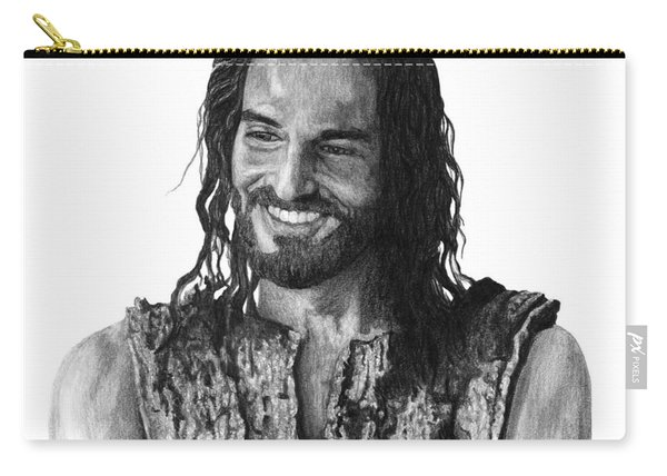 Jesus Smiling Carry-all Pouch