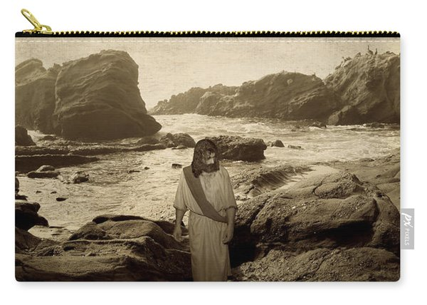 Jesus Walks Among Angels Carry-all Pouch