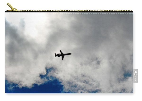 Jet Airplane Carry-all Pouch