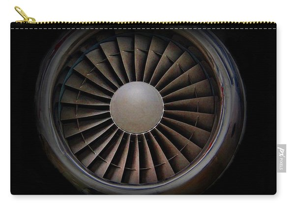 Jet Engine Digital Art Print Carry-all Pouch