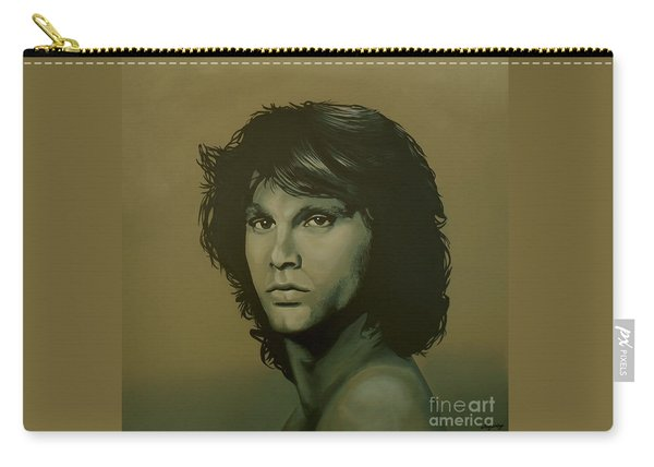 Jim Morrison Painting Carry-all Pouch
