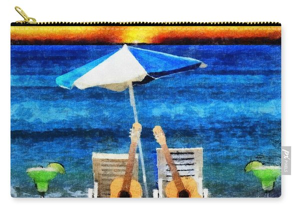 Jimmy Buffett Paradise Carry-all Pouch