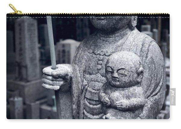 Jizo Bodhisattva Deity Of Kyoto  Carry-all Pouch